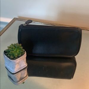 Coach Makeup Bag. Black Very clean